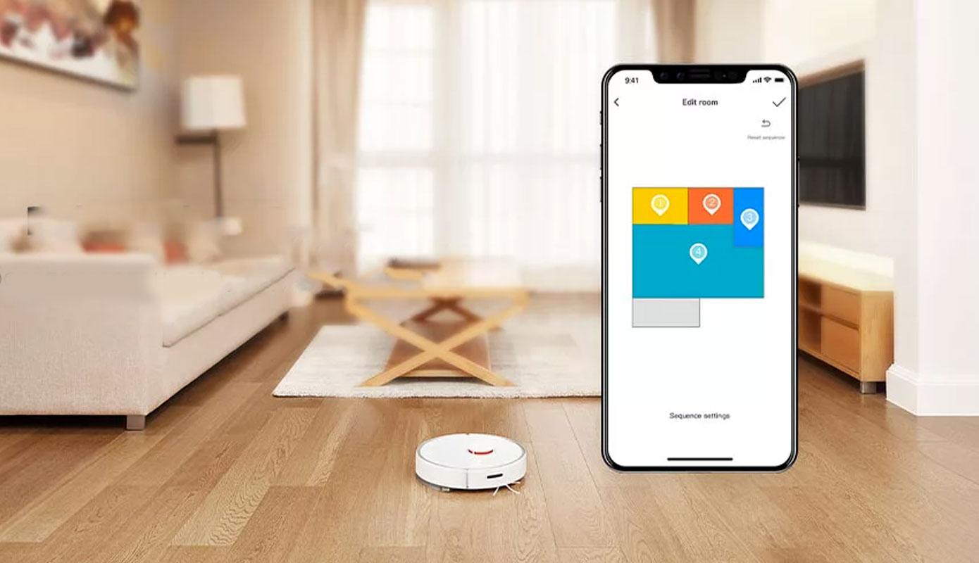 Opisanie Robot Pylesos Xiaomi Roborock S6 Pure Smart Sweeping Vacuum Cleaner White 2