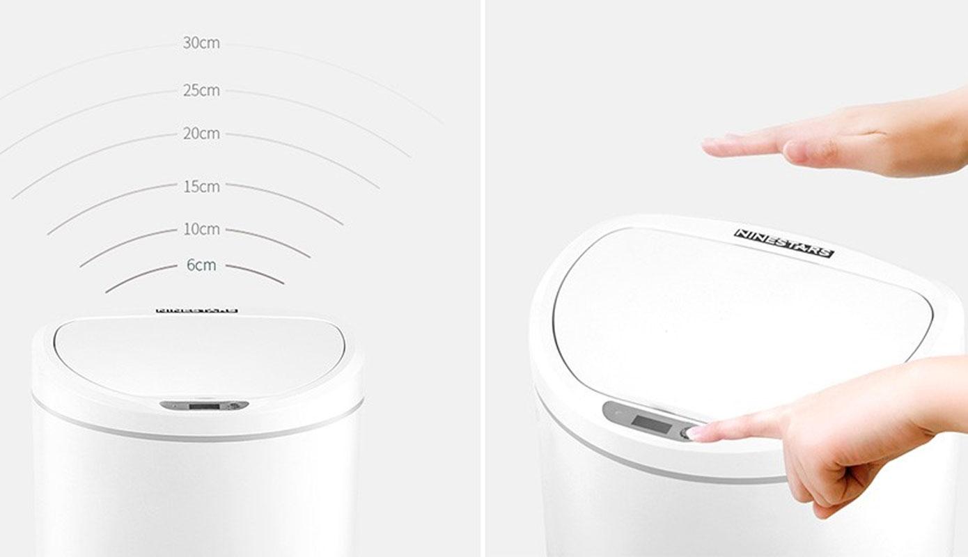 Opisanie Umnoe Musornoe Vedro Xiaomi Ninestars Sensor Trash Can 1