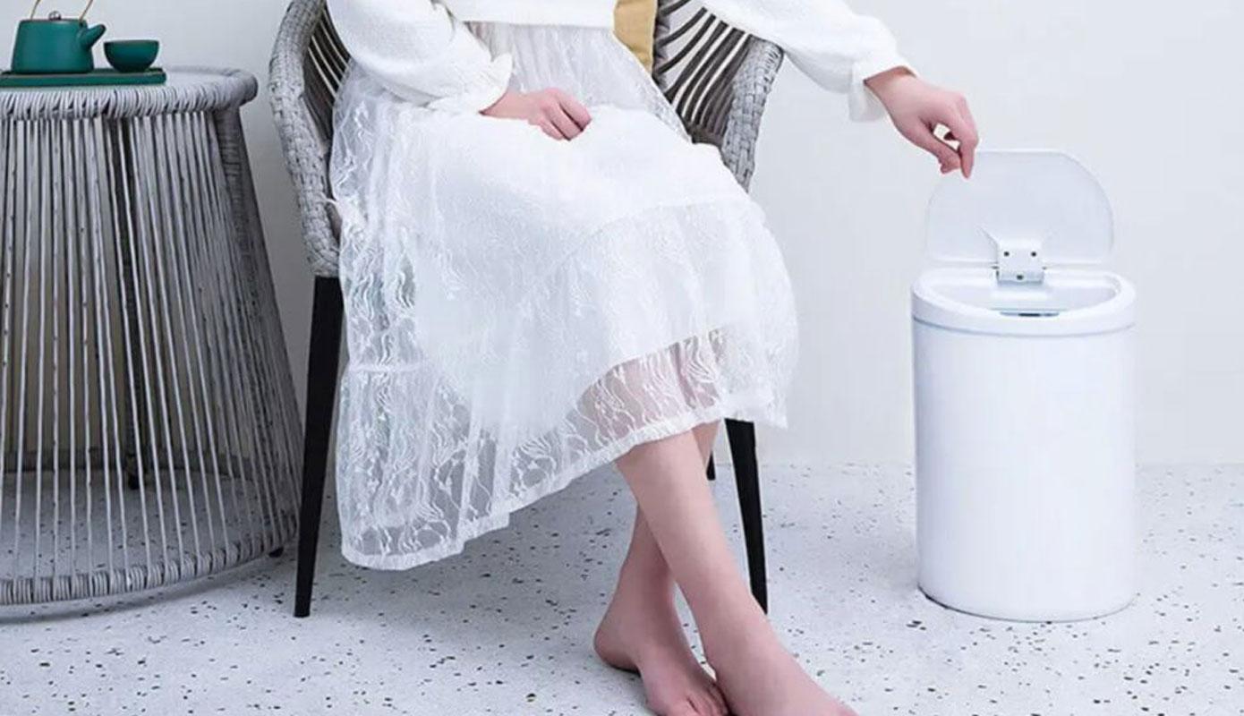 Opisanie Umnoe Musornoe Vedro Xiaomi Ninestars Sensor Trash Can 3