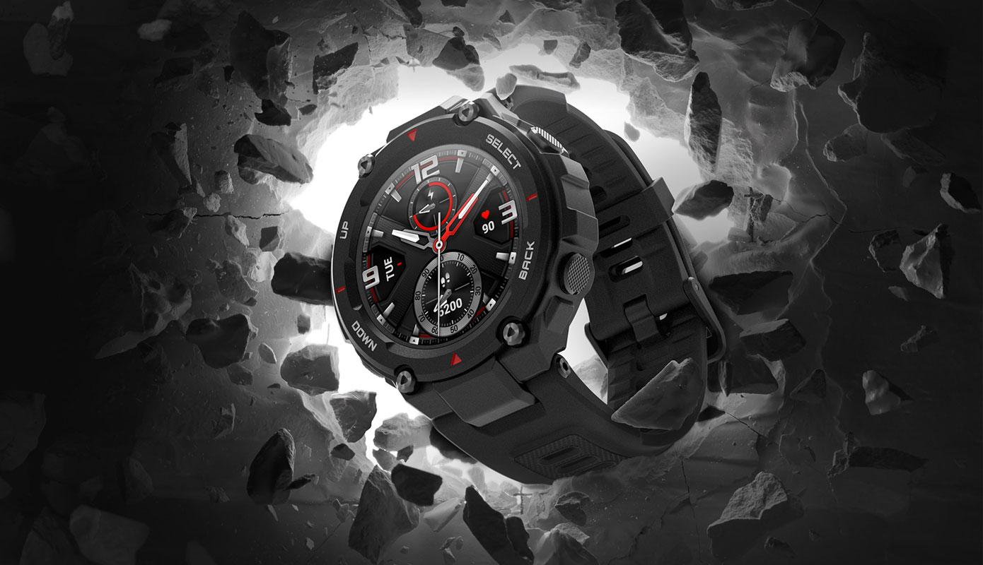 Opisanie Umnye Chasy Xiaomi Amazfit T Rex Smart Watch Standart 2
