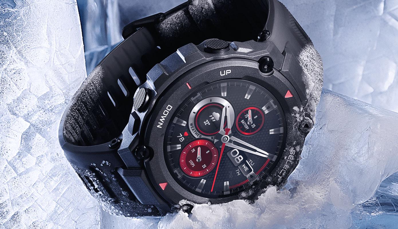Opisanie Umnye Chasy Xiaomi Amazfit T Rex Smart Watch Standart 3 1