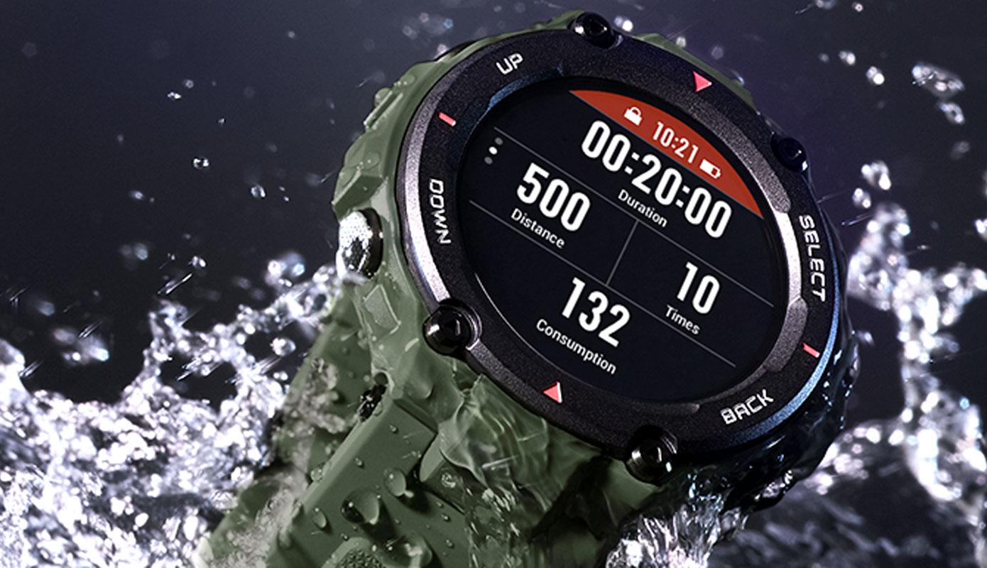 Opisanie Umnye Chasy Xiaomi Amazfit T Rex Smart Watch Standart 4