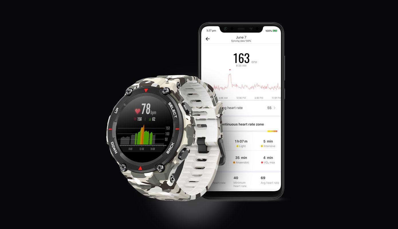 Opisanie Umnye Chasy Xiaomi Amazfit T Rex Smart Watch Standart 5