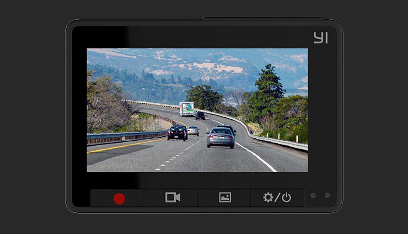 Opisanie Videoregistrator Xiaomi Yi Smart Dash Camera Se Chernyj 2