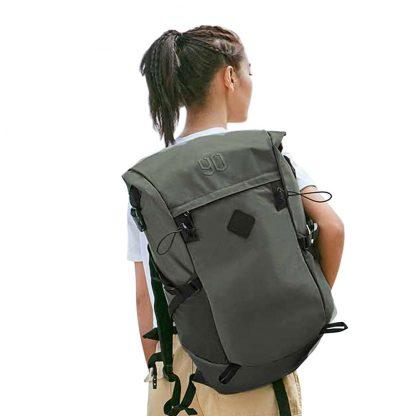 Ryukzak 90 Points Hike Basic Outdoor Backpack Green 4
