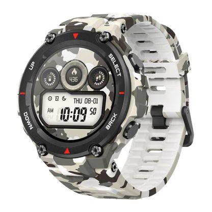 Umnye Chasy Xiaomi Amazfit T Rex Smart Watch Standart Kamuflyazh Camo Green 2