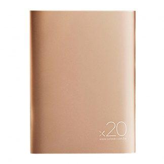 Vneshnij Akkumulyator Power Bank Xiaomi Solove 20000mah S Kozhanym Chehlom A8 2 Bezhevyj 1
