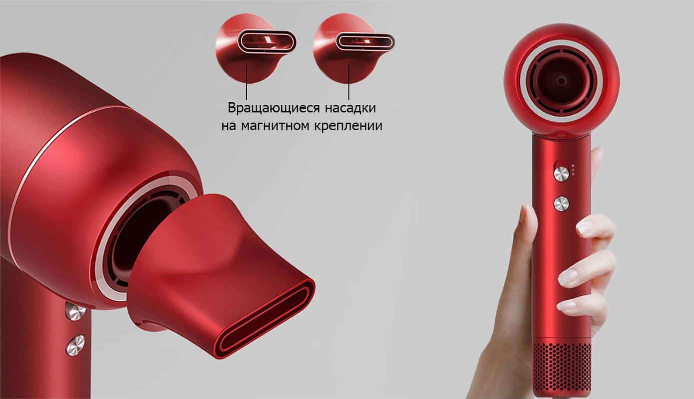 Opisanie Fen Xiaomi Dreame Hair Artist Temperature Control Hairdryer Ahd5 Re0 Red 3