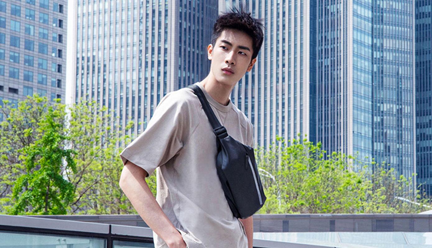 Opisanie Sumka Na Poyas Xiaomi Sports Chest Bag M1100214 Black 2