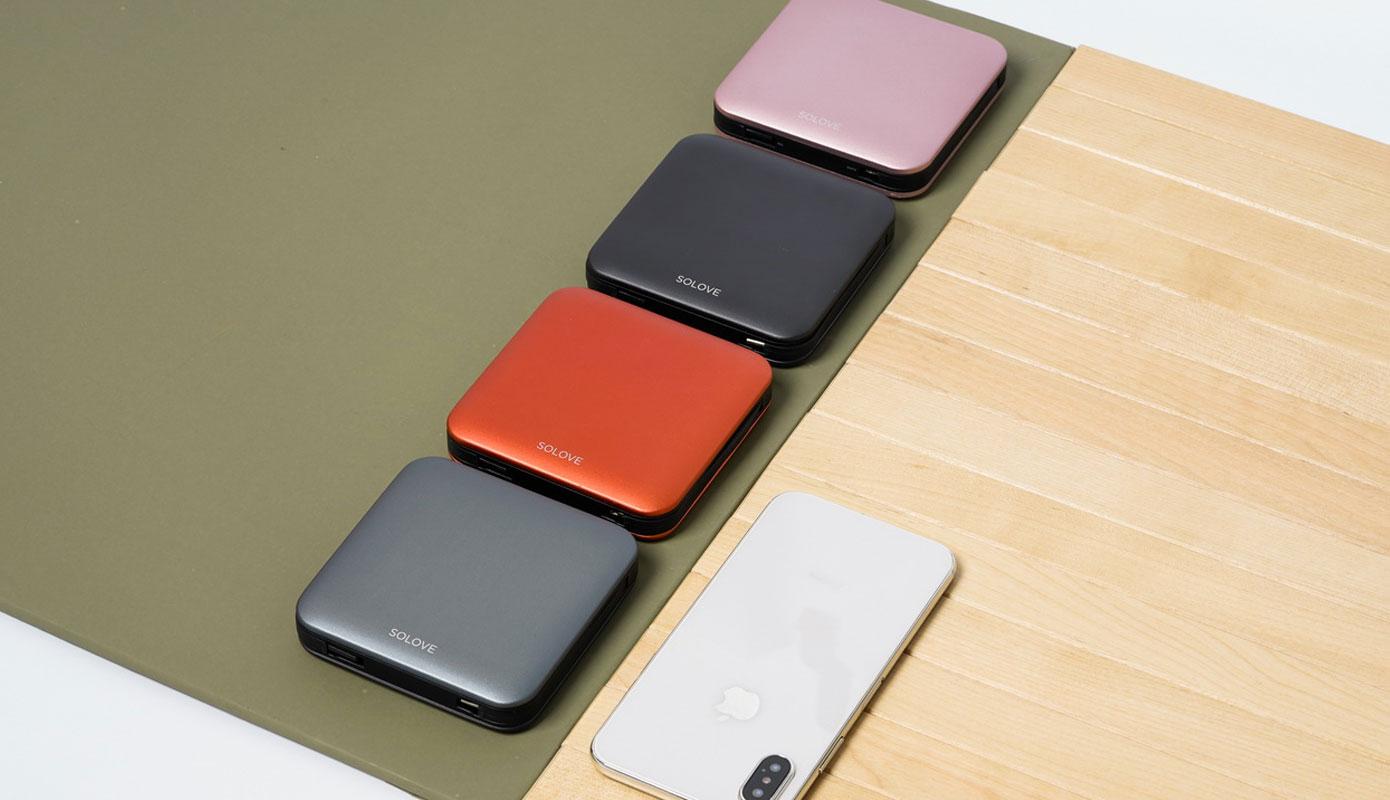 Opisanie Vneshnij Akkumulyator Power Bank Xiaomi Solove A2 Pro 10000 Mah 1