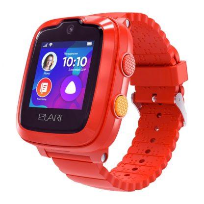 Detskie Chasy Elari Kidphone 4g Red Kp 4g 1