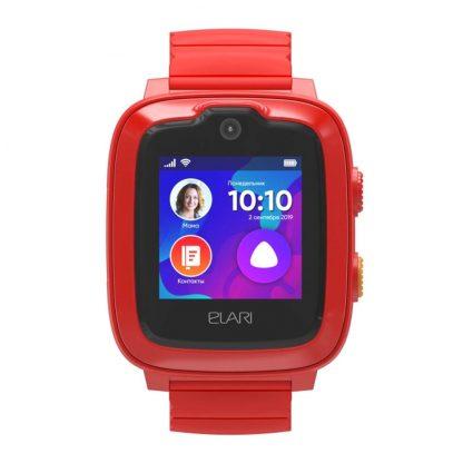 Detskie Chasy Elari Kidphone 4g Red Kp 4g 2