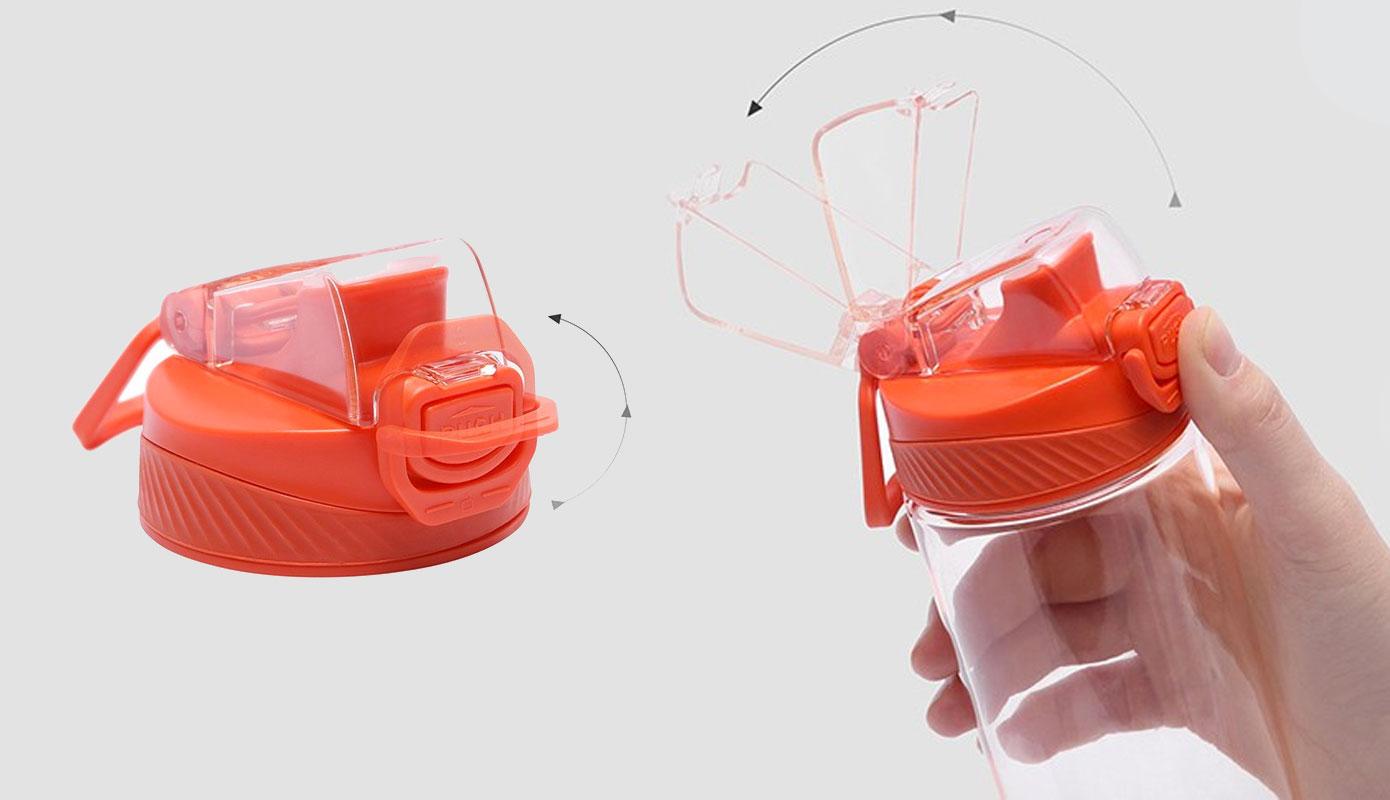 Opisanie Butylka Dlya Vody Xiaomi Quange Tritan Bottle 2