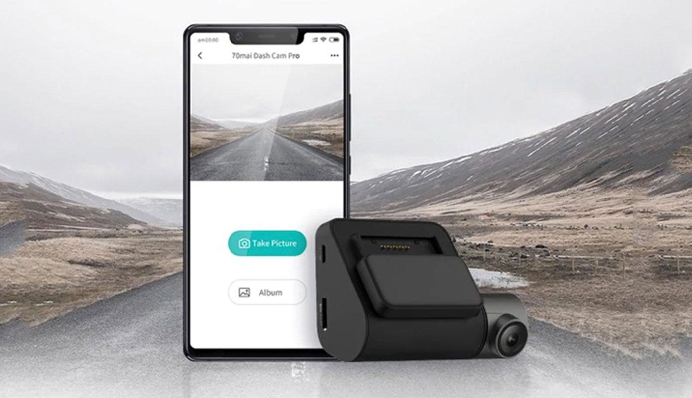 Opisanie Videoregistrator 70mai Dash Cam Pro Plus A500 1