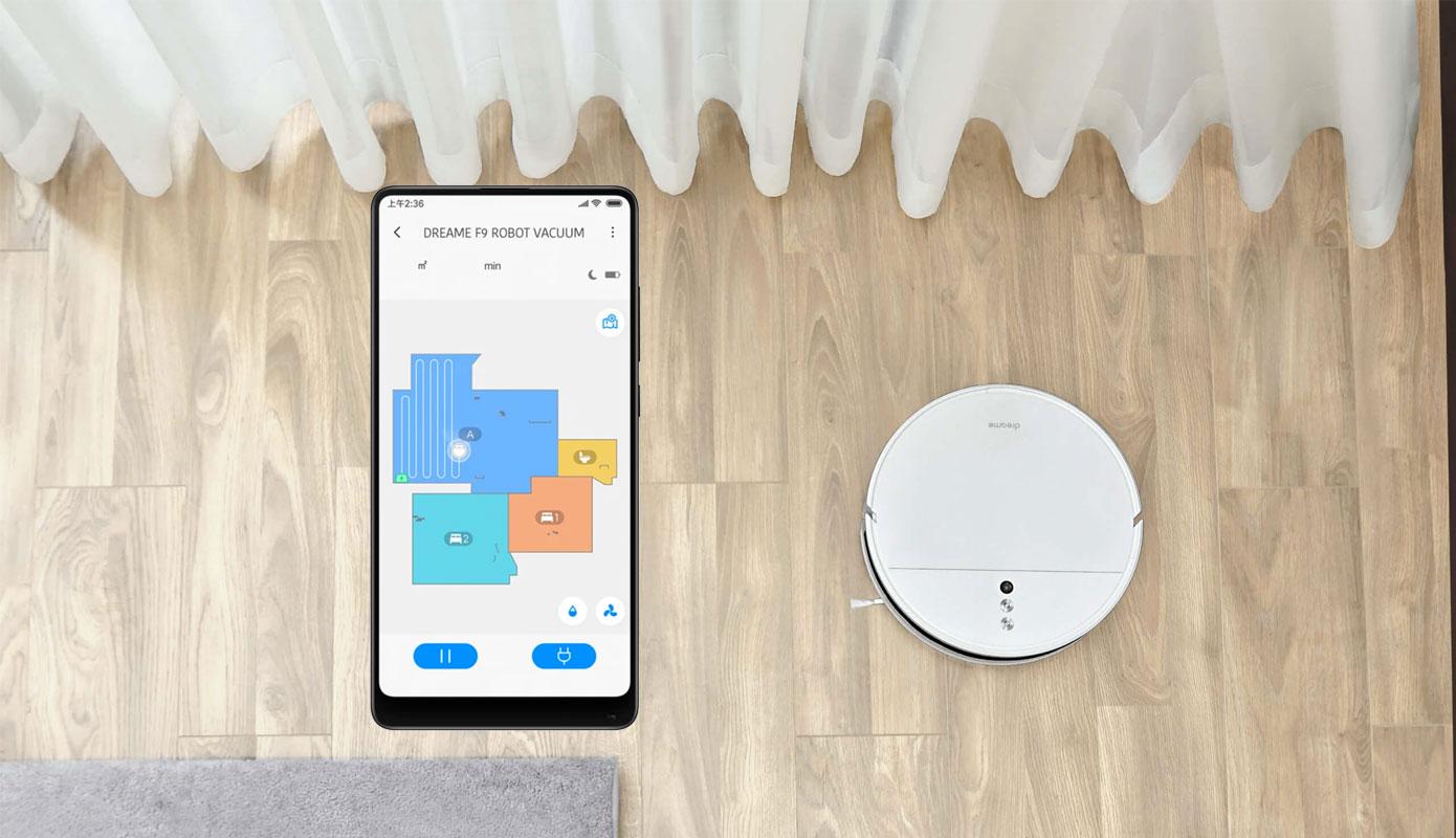 Opisanie Robot Pylesos Xiaomi Dreame F9 4
