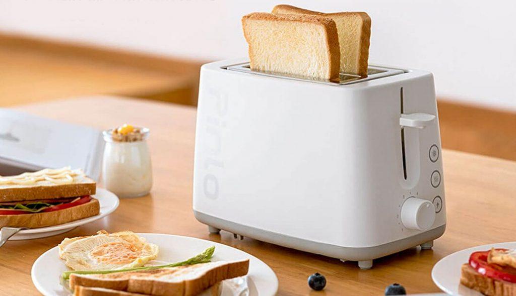 Opisanie Toster Gril Xiaomi Pinlo Mini Toaster Pl T075w1h White 1