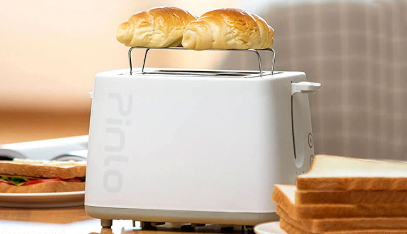 Opisanie Toster Gril Xiaomi Pinlo Mini Toaster Pl T075w1h White 3