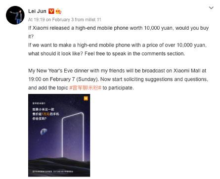 News Xiaomi Hochet Vorvatsya V Sferu Ultradorogih Telefonov 2