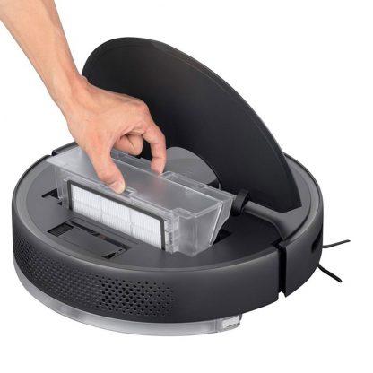 Robot Pylesos Xiaomi Roborock S6 Pure Smart Sweeping Vacuum Cleaner Chernyj 9
