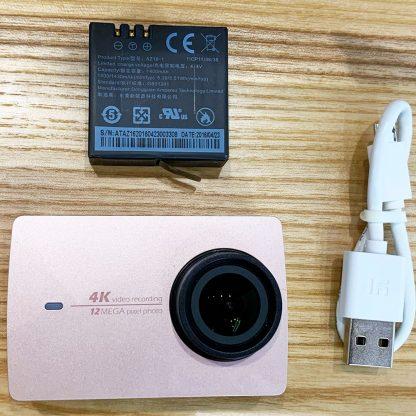 Uczenka Action Camera Xiaomi Yi 4k Rozovyj S N Z16v13lr624acn2661629 1