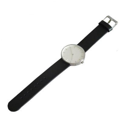 Chasy Xiaomi Twenty Seventeen Mens Quartz Watch Leather Strap Black 3