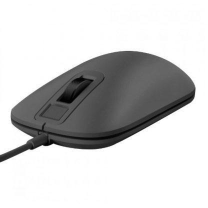 Mysh So Skanerom Otpechatka Palcza Xiaomi Smart Fingerprint Mouse Black 3