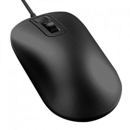 Mysh So Skanerom Otpechatka Palcza Xiaomi Smart Fingerprint Mouse Black 7