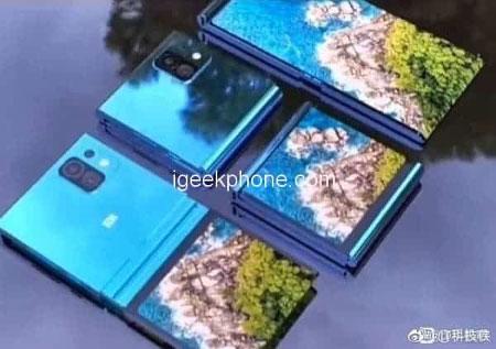 News Poyavilos Srazu Tri Raznye Utechki O Skladnom Smartfone Xiaomi 2