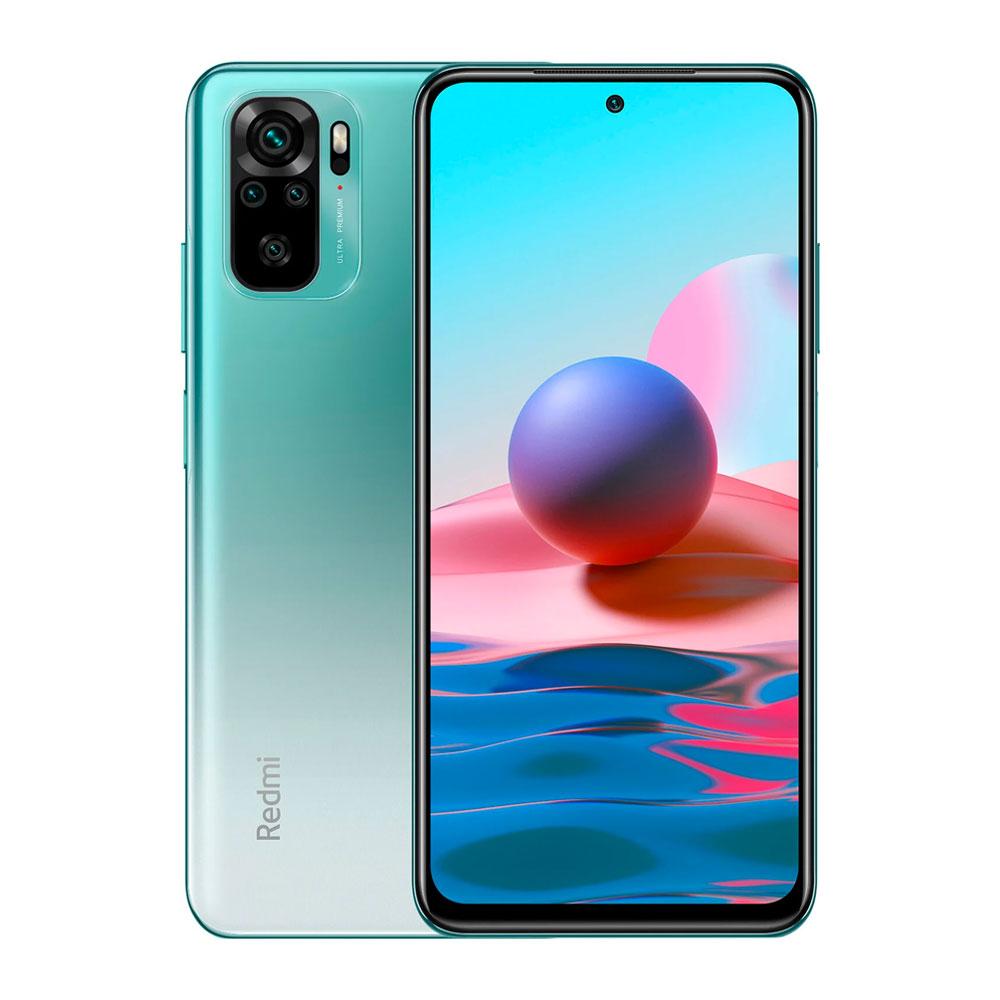 Купить Xiaomi Redmi Note 10 4/64Gb Lake Green - Mi92.ru