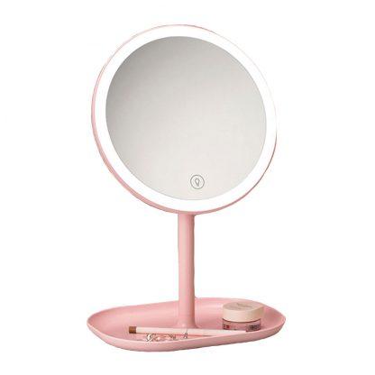 Zerkalo Dlya Makiyazha S Podsvetkoj Xiaomi Jordan Judy Led Makeup Mirror Rozovyj Nv529 1
