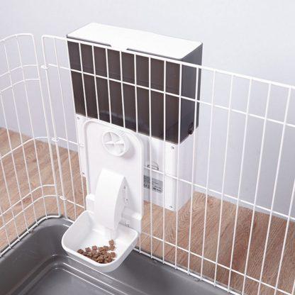 Kormushka Dlya Zhivotnyh Xiaomi Patwant Cage Automatic Feeder Gray 3