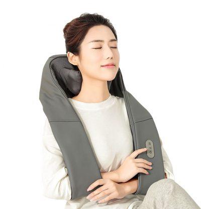 Massazher Universalnyj Xiaomi Lefan 3d Kneading Shawl Lf Ap017 Mgy 2 Bez Akkumulyatora 2