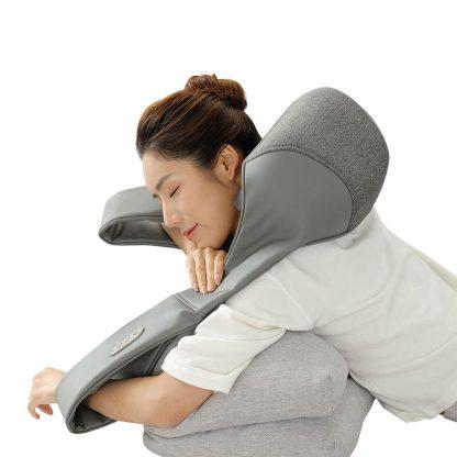 Massazher Universalnyj Xiaomi Lefan 3d Kneading Shawl Lf Ap017 Mgy 2 Bez Akkumulyatora 3