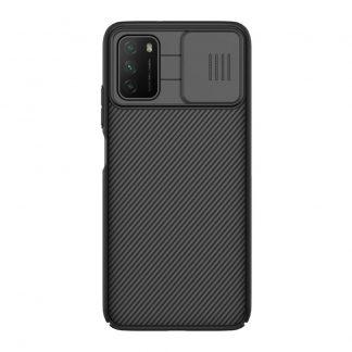 Nakladka Nillkin Silikonovaya Camshield Dlya Xiaomi Poco M3 Chernyj 1