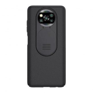 Nakladka Nillkin Silikonovaya Camshield Dlya Xiaomi Poco X3 X3 Pro Chernyj 1