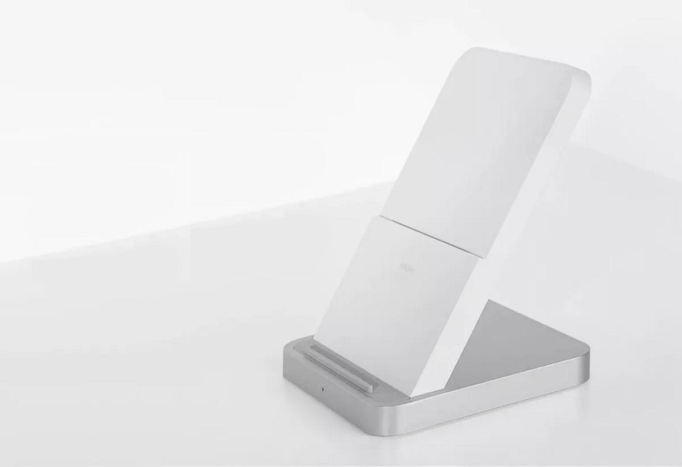 Opisanie Besprovodnoe Zaryadnoe Ustrojstvo Xiaomi Vertical Air Cooled Wireless Charger 30w Mdy 11 Eg 1