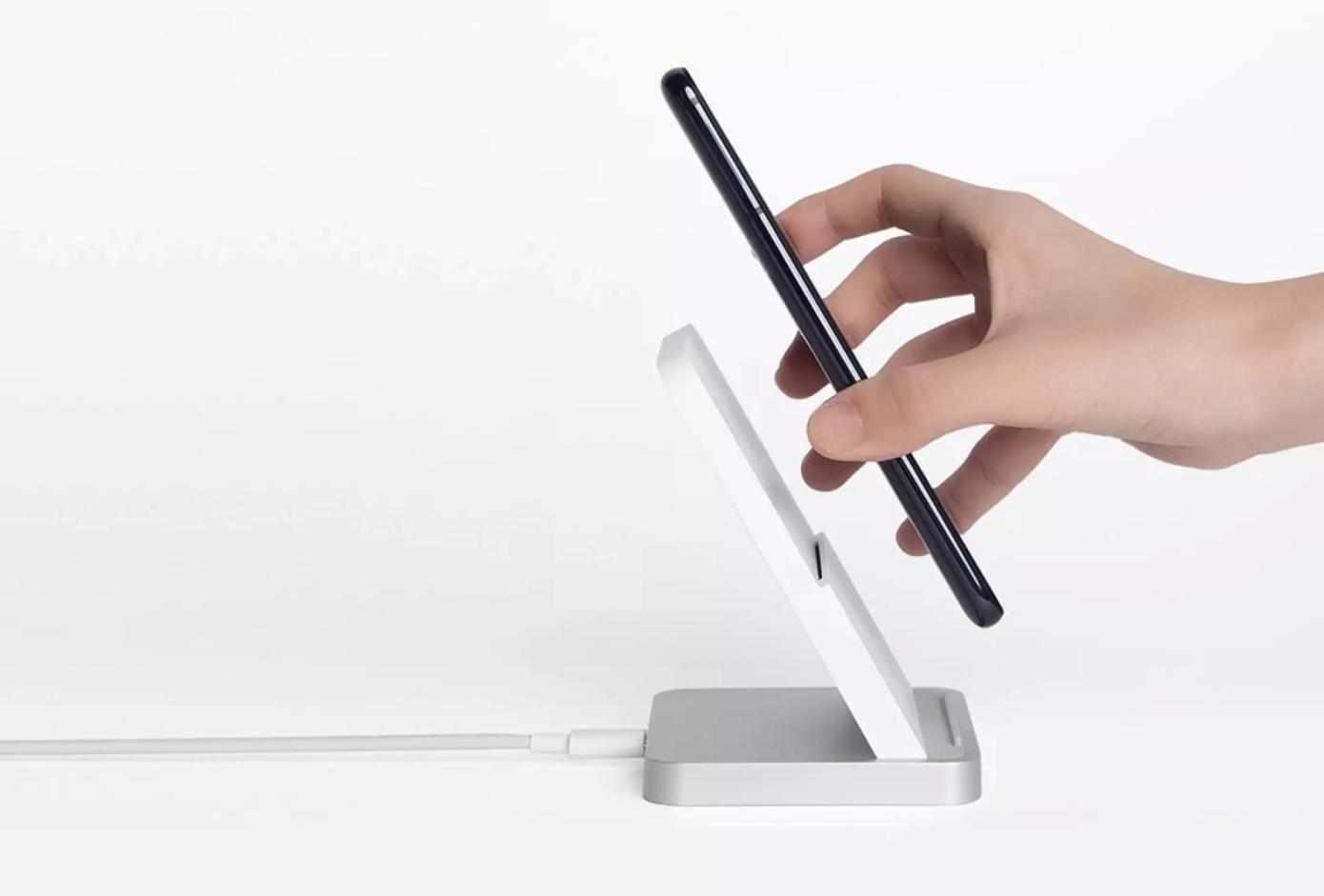 Opisanie Besprovodnoe Zaryadnoe Ustrojstvo Xiaomi Vertical Air Cooled Wireless Charger 30w Mdy 11 Eg 3