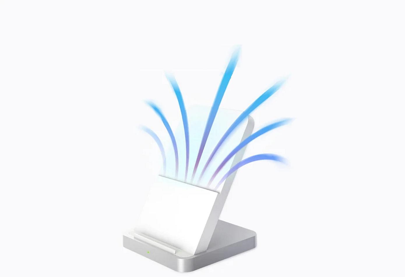 Opisanie Besprovodnoe Zaryadnoe Ustrojstvo Xiaomi Vertical Air Cooled Wireless Charger 30w Mdy 11 Eg 5