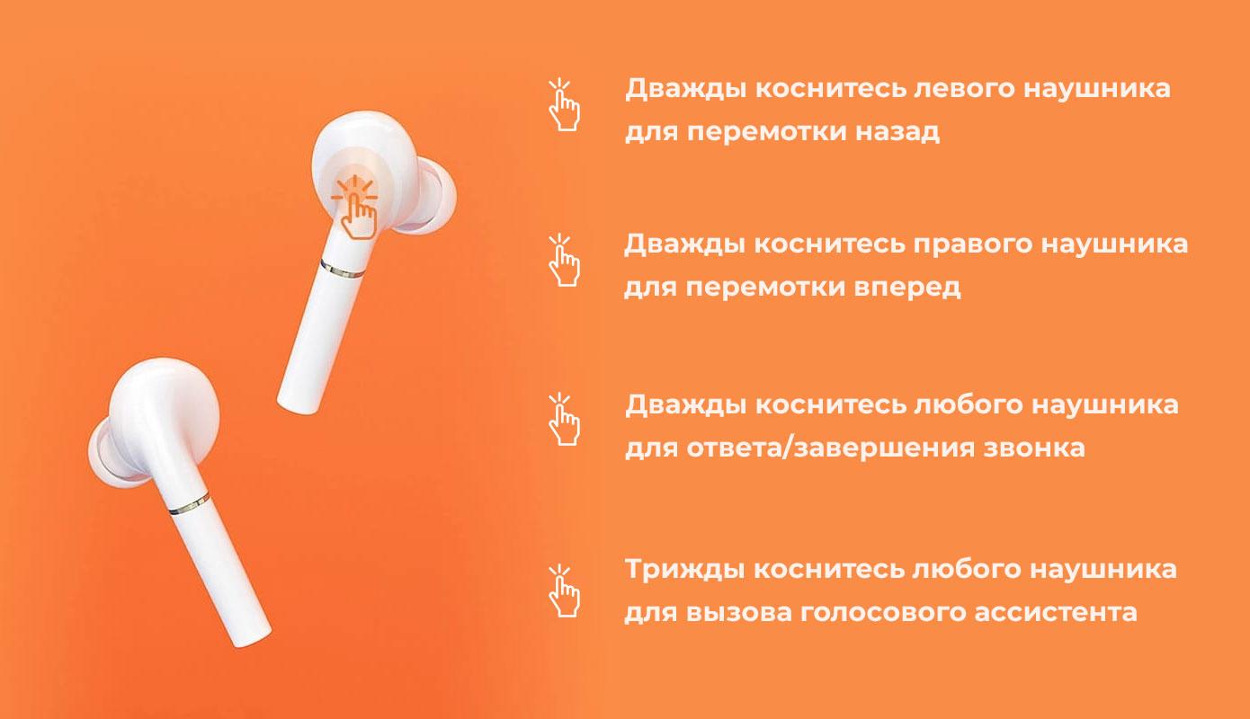 Opisanie Besprovodnye Naushniki Xiaomi Haylou T19 4