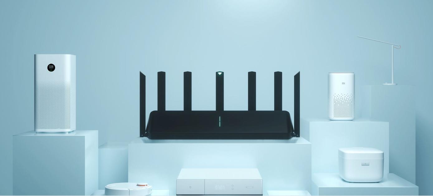 Opisanie Router Xiaomi Aiot Router Ax3600 7