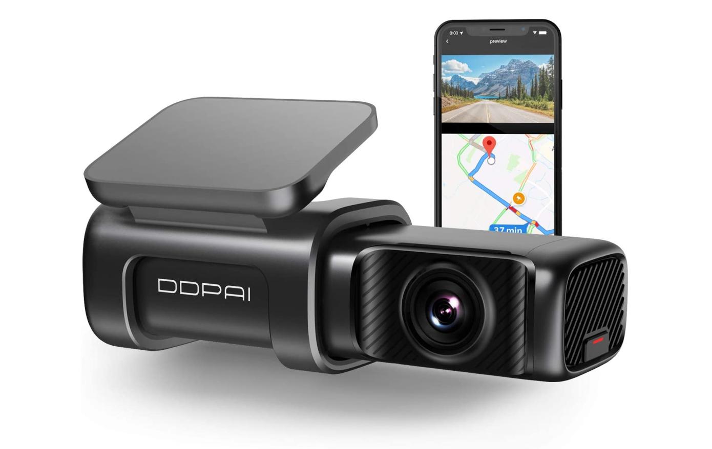 Opisanie Videoregistrator Xiaomi Ddpai Mini 5 Dash Cam 1