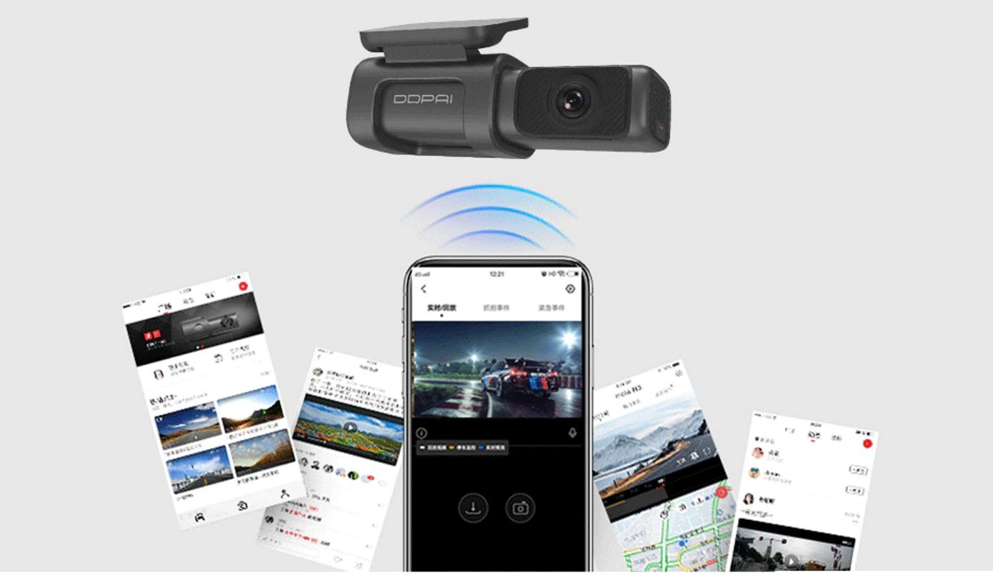 Opisanie Videoregistrator Xiaomi Ddpai Mini 5 Dash Cam 6