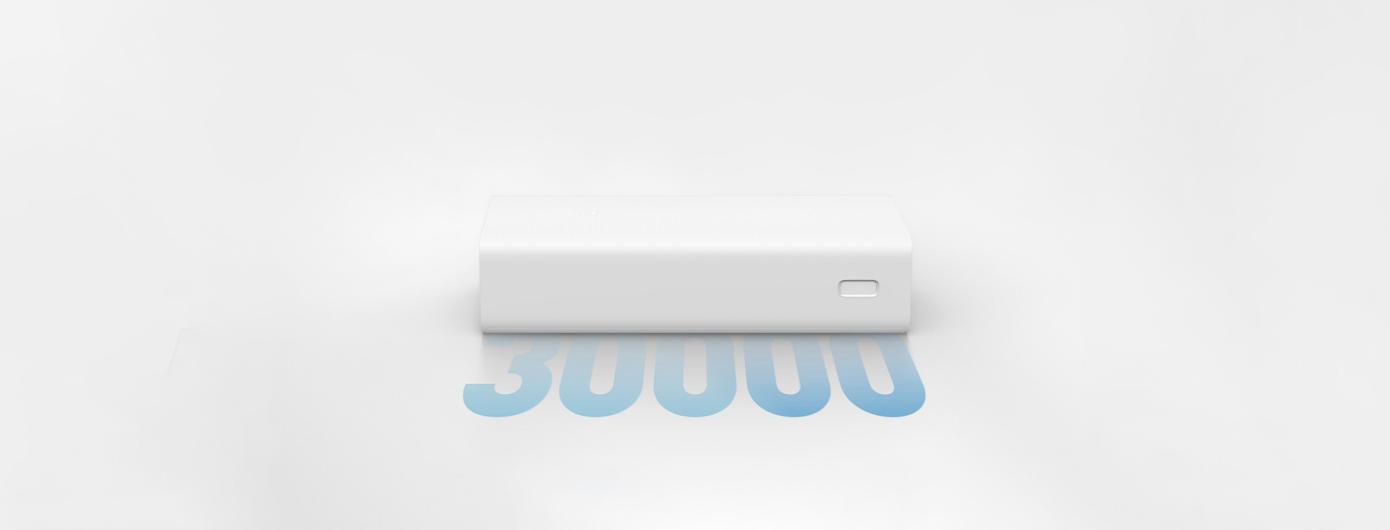Opisanie Vneshnij Akkumulyator Power Bank Xiaomi 3 30000 Mah White Pb3018zm 4