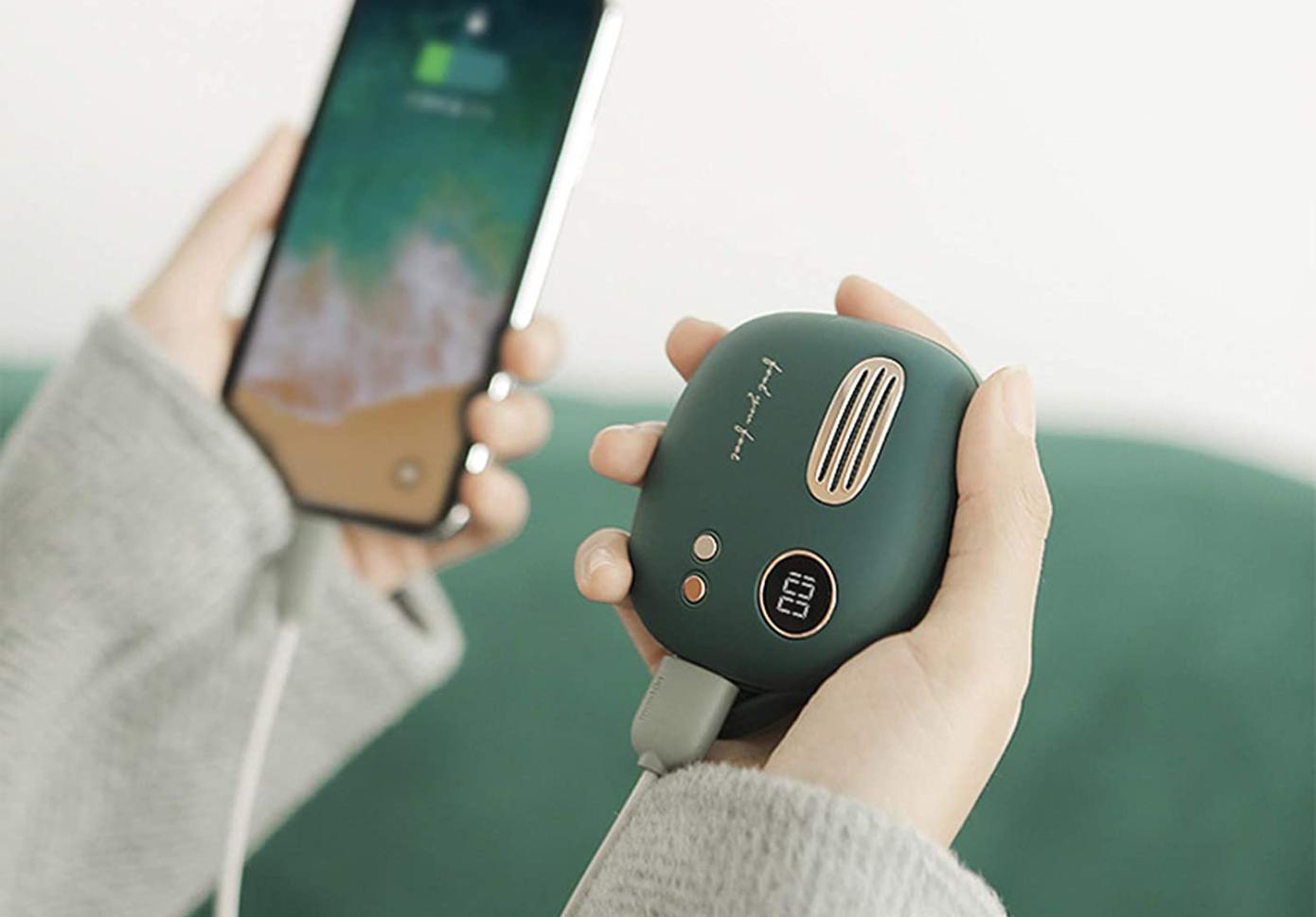 Opisanie Vneshnij Akkumulyator Power Bank Xiaomi Mao Xin Retro Mobile 5000 Mah T 40 3