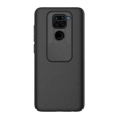 Nakladka Nillkin Silikonovaya Camshield Dlya Xiaomi Redmi Note 9 Chernyj 1
