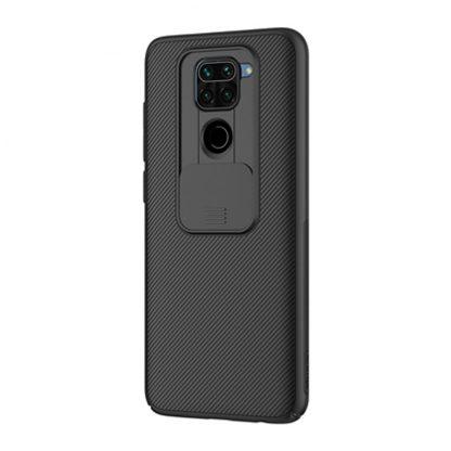 Nakladka Nillkin Silikonovaya Camshield Dlya Xiaomi Redmi Note 9 Chernyj 2