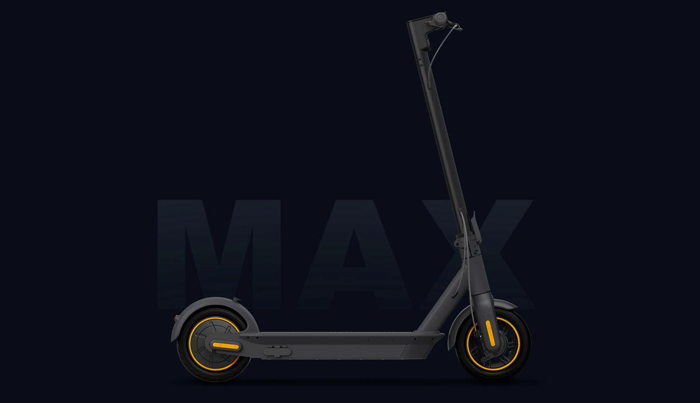 Opisanie Elektrosamokat Ninebot Kickscooter Max G30 1