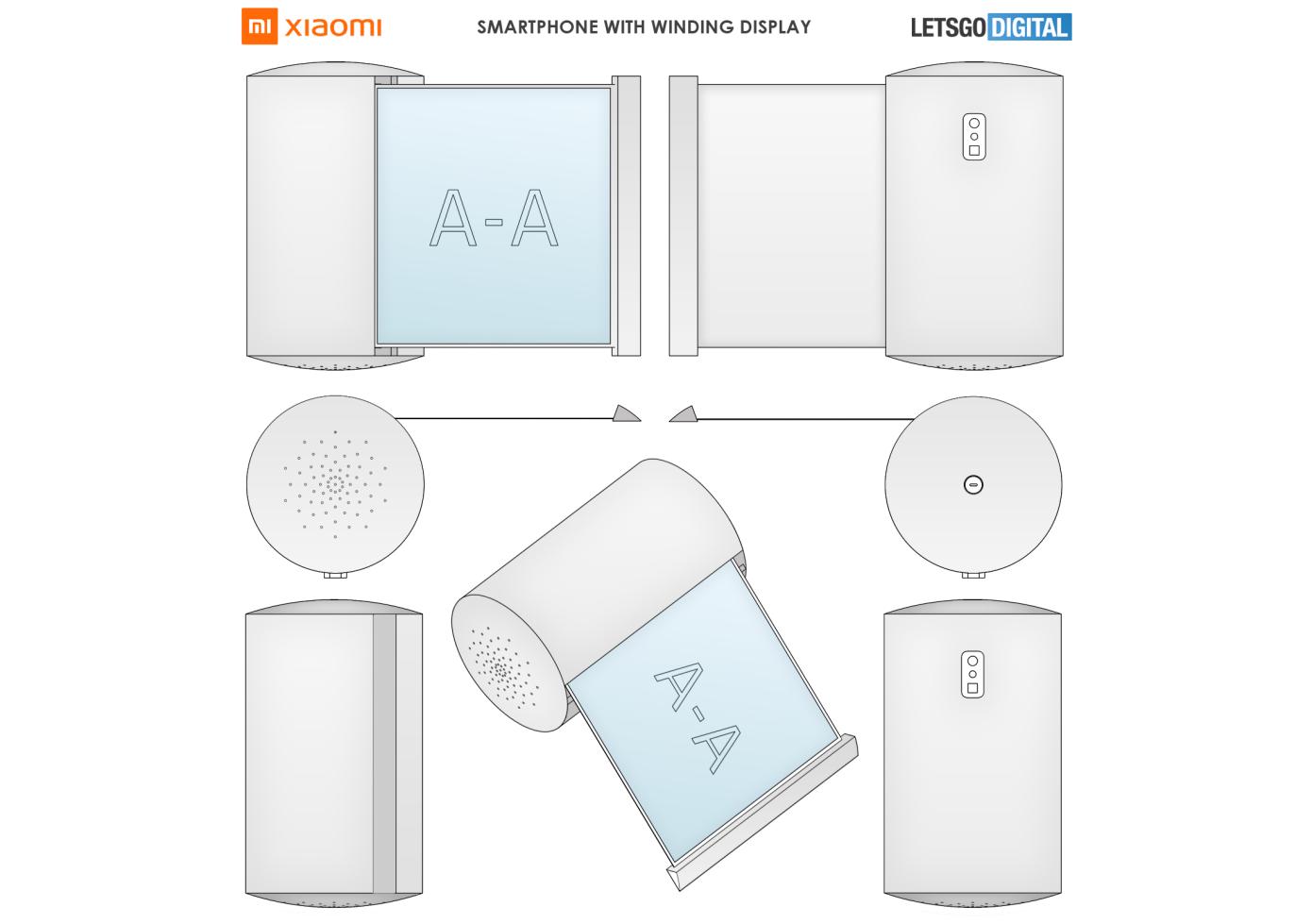 Smartfon Ruletka Xiaomi Patentuet Novoe Primenenie Gibkogo Displeya 1