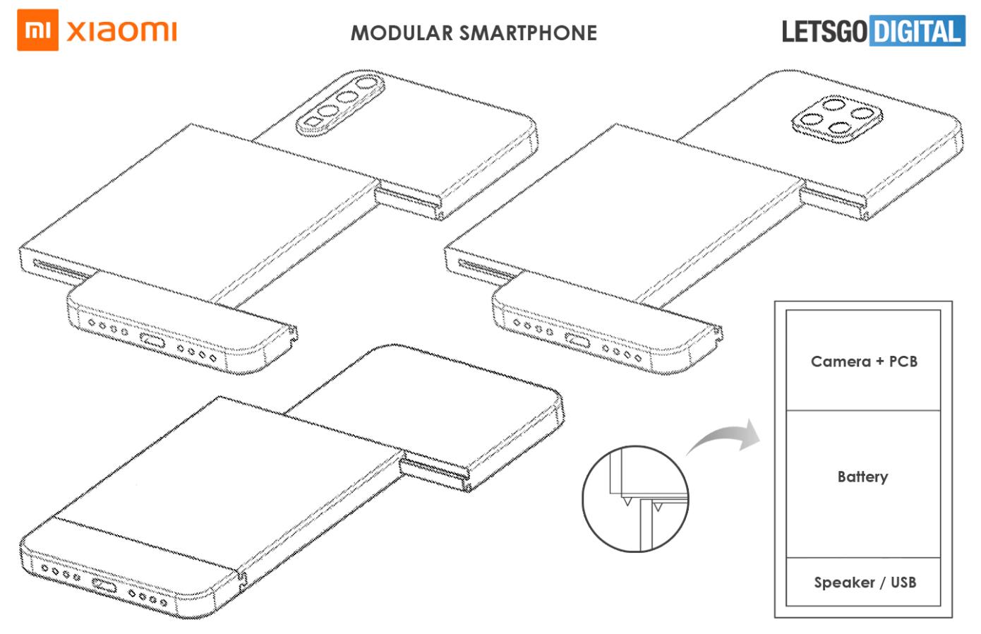 Xiaomi Zapatentovala Smartfon S Bystrosmennymi Modulyami 4