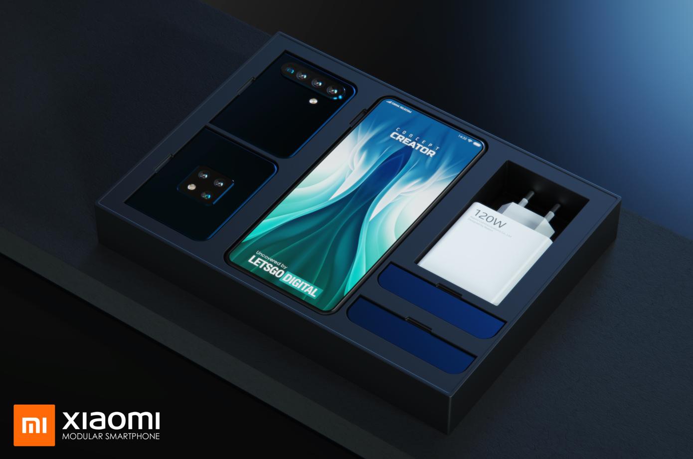 Xiaomi Zapatentovala Smartfon S Bystrosmennymi Modulyami 6